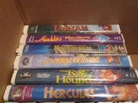 Selling some of the best Disney movies ever made. These