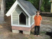big dog house...brand new....5'wx7'lx5.5'tall...no