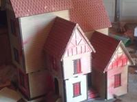 This doll house we bought years ago because my daughter