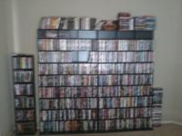 Huge dvd collection for sale! I have a full a full