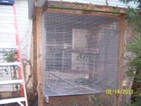 I have a HUGE, sturdy flight cage for sale! Will hold
