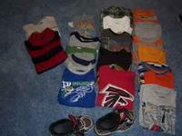 Huge Lot of Boys 5/5T, 17 Shirts included One Atlanta