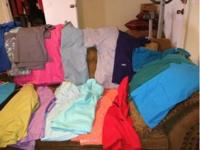 Huge lot of scrubs with different name brands including
