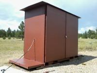 "Steel XXL Lock ""Box"" is NEW & is 4' 6"" wide, x 8' 6"""