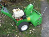 large green lawnboy snowblower--8 horse ---works