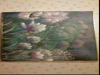 Huge beautiful floral painting. Signed. I've had this
