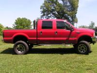 2002 F250 power stroke diesel, 8 inch rough country