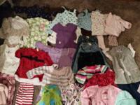 Big lot baby girls Fall/Winter clothes ( 6-12months )