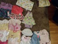 Huge lot baby girls spring/summer clothes (nb-6 months)