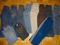 Nice BIG LOT of Boys size 8 clothing.  11 pairs of