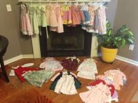 Girls clothing, TOO MANY OUTFITS! Sizes range from