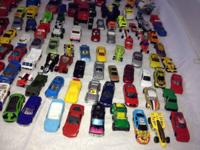 HUGE LOT OF 109 CARS!  IN GREAT CONDITION!  ALL KINDS