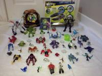 "BIG LOT OF 54 ""BEN 10"" ITEMS!  IN GREAT CONDITION !!"