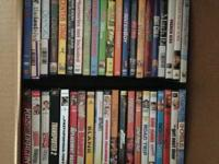 BIG LOT OF 59 DVDs - Very Good Condition!  You can see