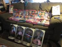 up for sale my collection of barbies and 50's dolls and
