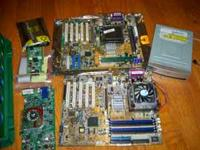 I have a bunch of older computer parts for sale, take