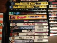I have 36 DVD's, hardly used, that must go! 99% of