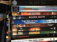 This posting is for 103 DVDs. I am selling these DVDs