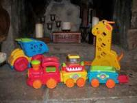 I have a huge lot of fisher price blocks and