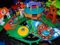 I have a huge lot of Fisher Price little people toy...