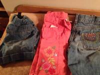 Huge lot of name brand girls clothes. Sizes are 8-10.