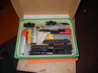 I have boxes of HO trains and accessories that I've