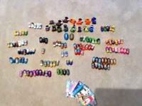 Huge lot of Mighty Beans, Mega Beans, trading cards and