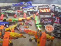 This is a huge lot of Nerf Toys. The all work and are