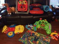 I have a big great deal of baby/toddler toys. The very