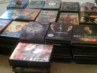 Huge lot I've 160 plus dvds all working and scratch