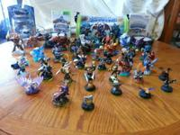My son is selling off all of his skylanders there r