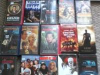 i have this lot of used vhs, as far as i know they all