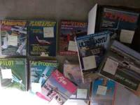 I have a huge lot of aviation magazines. I am 60 miles
