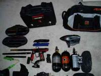 HUGE lot of professional paintball gear smart parts ion