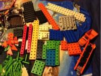 Selling my son's entire collection of TRIO blocks. Too