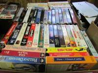 Huge Lot 200+ VHS Tapes Mixed Lot Make an offer Call