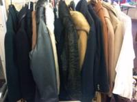 Over 200 items including real fur coats and wool
