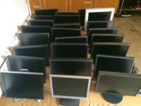 FOR SALE: LOTS OF 23PCS. COMPUTER MONITORS WHOLESALE.