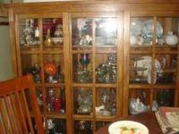 I have a huge modern style china cabinet that is taking