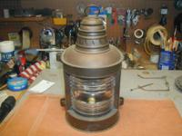This is a vintage Perko Nautical Mast light with
