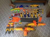 You are looking at a Nerf Gun Bundle These are all used