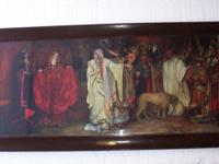 "$675.00 Size with the frame is 51"" x 25"" HUGE Original"