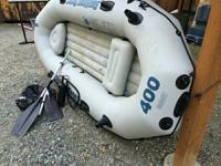 size raft however requires a spray down. It has 2