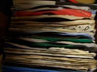 Record collection all 45s great for jukebox. There are