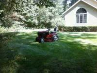 "1991 Toro Wheelhorse 520-H with very nice 48"" mower"