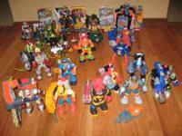 Large collection of Rescue Heroes. In great condition.