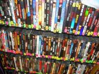 HUGE SELECTION OF DVD'S FOR SELL EVERYTHING FROM