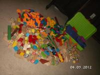 I have a huge lot of building and creating toys for