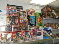 For sale a huge selection of toys from:  Todd McFarlane