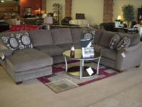 Beautiful Sage Sectional now available. This item is